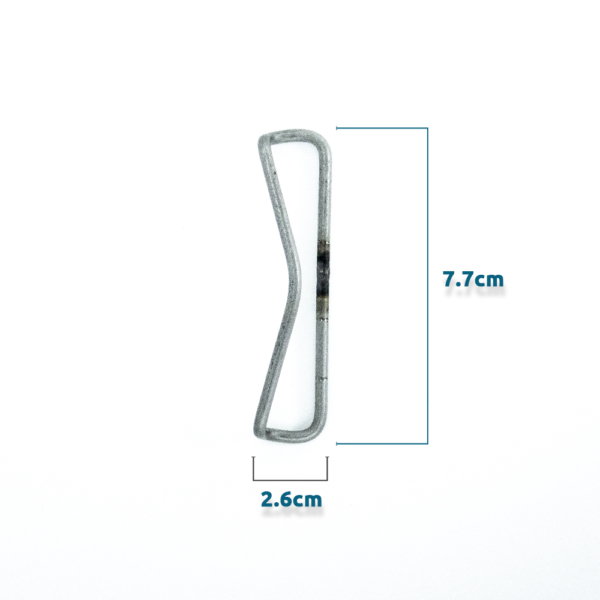 Dimensions of wired tip clip