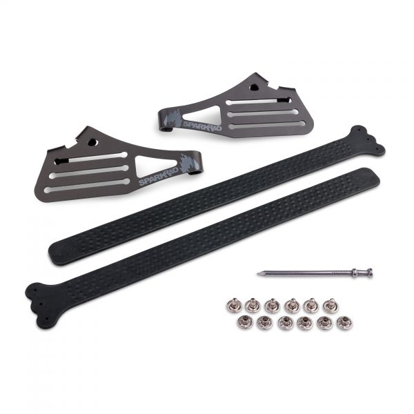 Performance Tail clips with Rivets for Splitboard skins